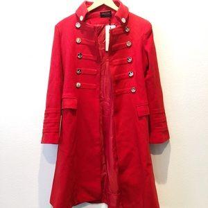 Jackets & Blazers - Trendy Red Coat